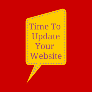 update your website