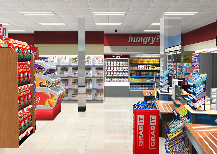 displaying 20 images for convenience store design ideas
